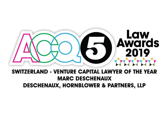 SWITZERLAND – VENTURE CAPITAL LAWYER OF THE YEAR